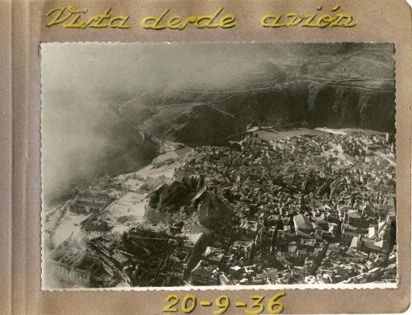Año 1936-09-20 - Vista desde avión