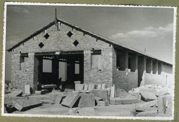 Año 1945-08-28 - Edificios auxiliares - Taller de cantería