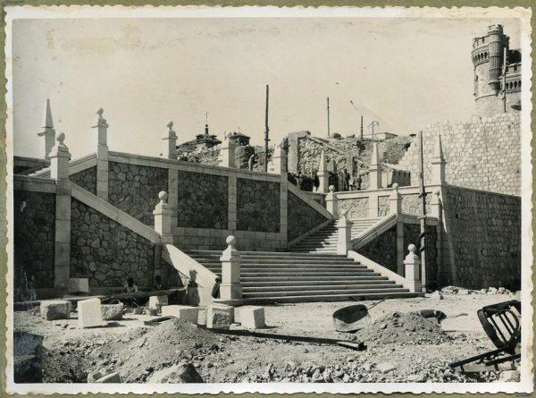 Año 1945-09-15 - Escalera de la cota 64 a la 69_3