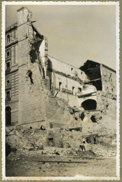 Año 1946-02-14 - Desescombro Fachada Este_2