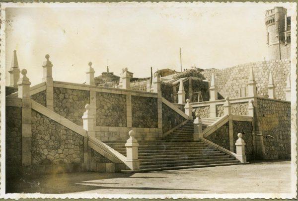 Año 1946-02-14 - Escalera de la cota 64 a la 69_3