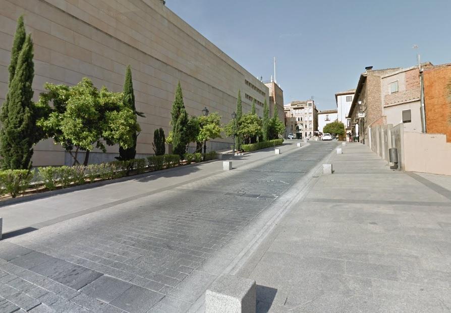 http://www.toledo.es/wp-content/uploads/2019/09/calle-de-la-paz.jpg. Obras en el entorno del Alcázar