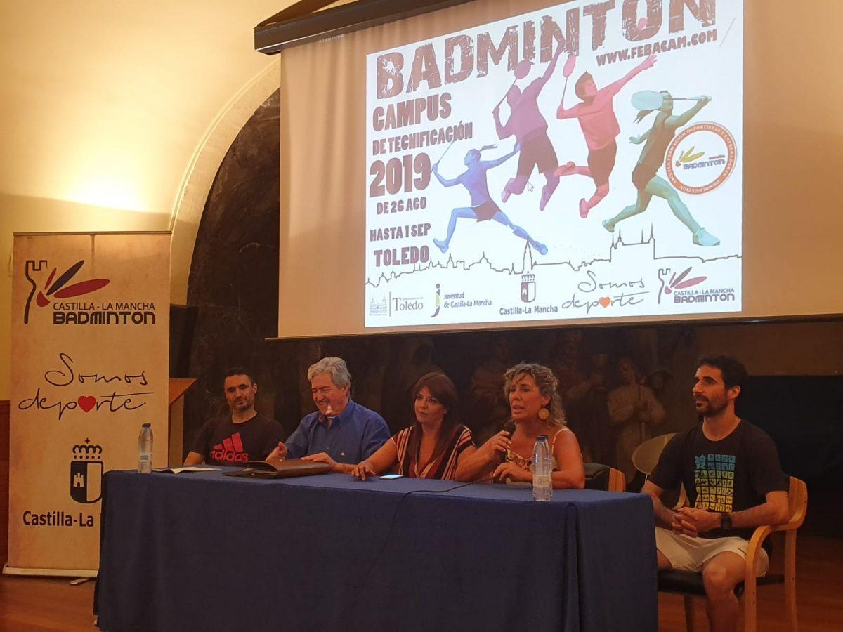 https://www.toledo.es/wp-content/uploads/2019/09/campus-badminton-02-1200x900.jpg. El Gobierno municipal participa en la clausura del Campus de Tecnificación de Bádminton impulsado por el Ayuntamiento