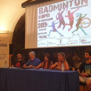 l Gobierno municipal participa en la clausura del Campus de Tecnificación de Bádminton impulsado por el Ayuntamiento