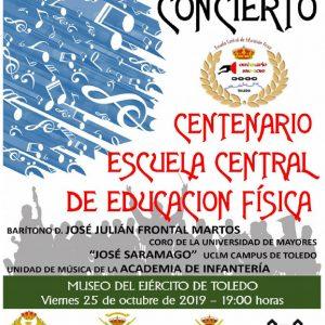 Concierto: Centenario de la Escuela Central de Educación Física