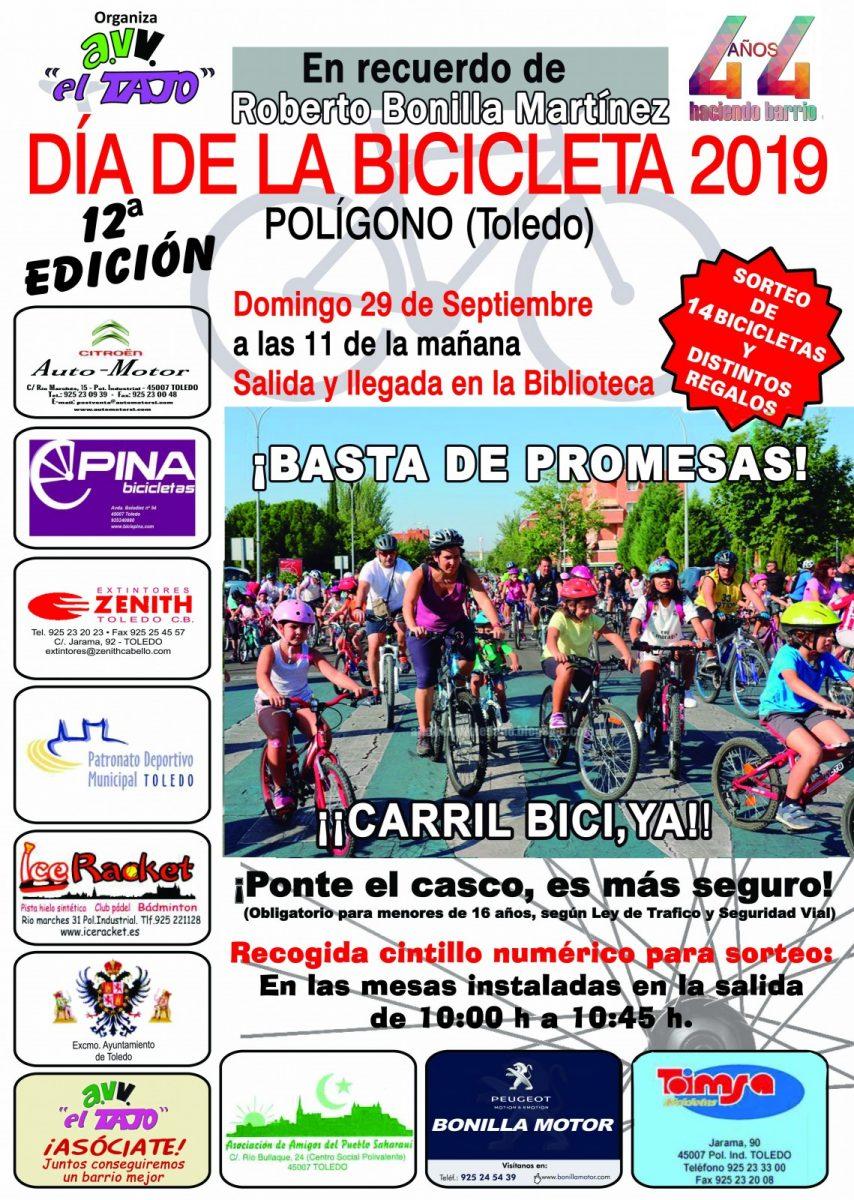 https://www.toledo.es/wp-content/uploads/2019/09/cartel-bici-asociacion-854x1200.jpg. XII Día de la Bicicleta Asociación de Vecinos El Tajo
