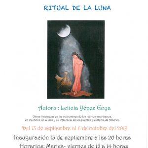 Exposición de pintura: Ritual de la luna