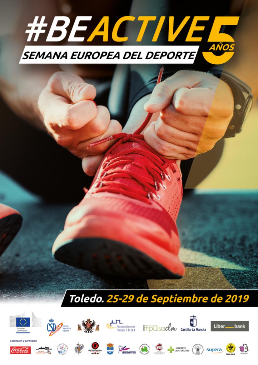 https://www.toledo.es/wp-content/uploads/2019/09/cartel-semana-europea.jpg. Las actividades programadas este viernes en el marco de la Semana Europea del Deporte tendrán lugar en el Corralillo de San Miguel