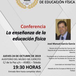 Conferencia: La enseñanza de la educación física