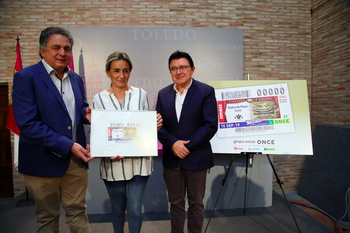 http://www.toledo.es/wp-content/uploads/2019/09/cupon-1-1200x800.jpeg. El Ayuntamiento y la ONCE promoverán la colaboración mutua para reforzar la accesibilidad dentro de la estrategia cultural