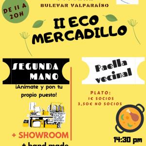 II Eco Mercadillo y Paella vecinal