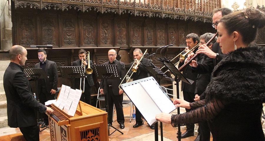 """http://www.toledo.es/wp-content/uploads/2019/09/ensamble-cisneros.jpg. Transparencias: Missa """"El Ojo"""" de F. Peñalosa (1470-1528)"""