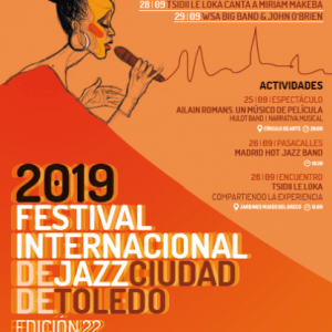 Festival de Jazz Toledo 2019: Concierto «WSA Big Band»