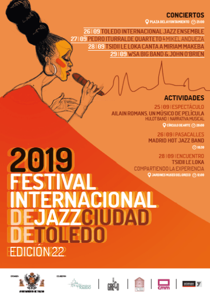 http://www.toledo.es/wp-content/uploads/2019/09/festival-jazz-toledo-2019.png. Festival de Jazz Toledo 2019: Concierto «WSA Big Band»