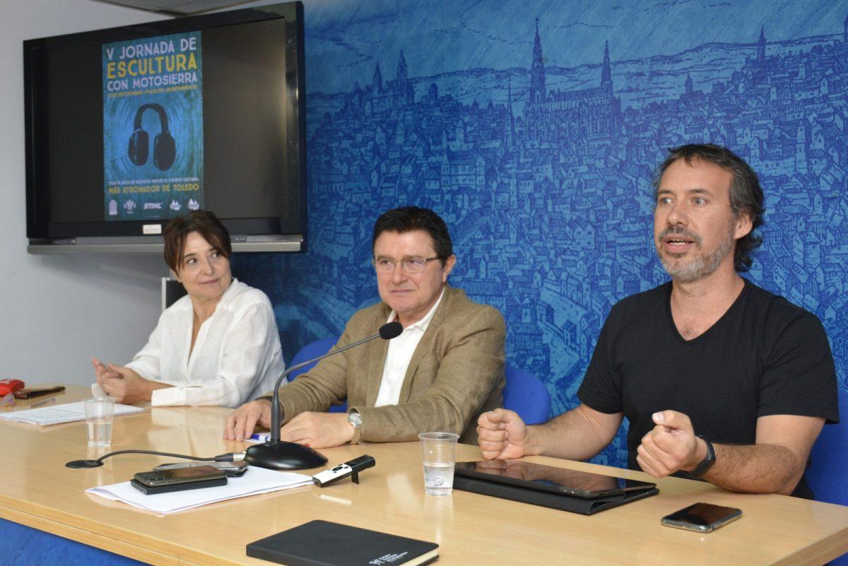 http://www.toledo.es/wp-content/uploads/2019/09/foto-rp-escultura-motosierra-02-1200x801.jpg. El Ayuntamiento respalda las V Jornadas de Escultura con Motosierra que regresan el domingo a Toledo con tallas en directo