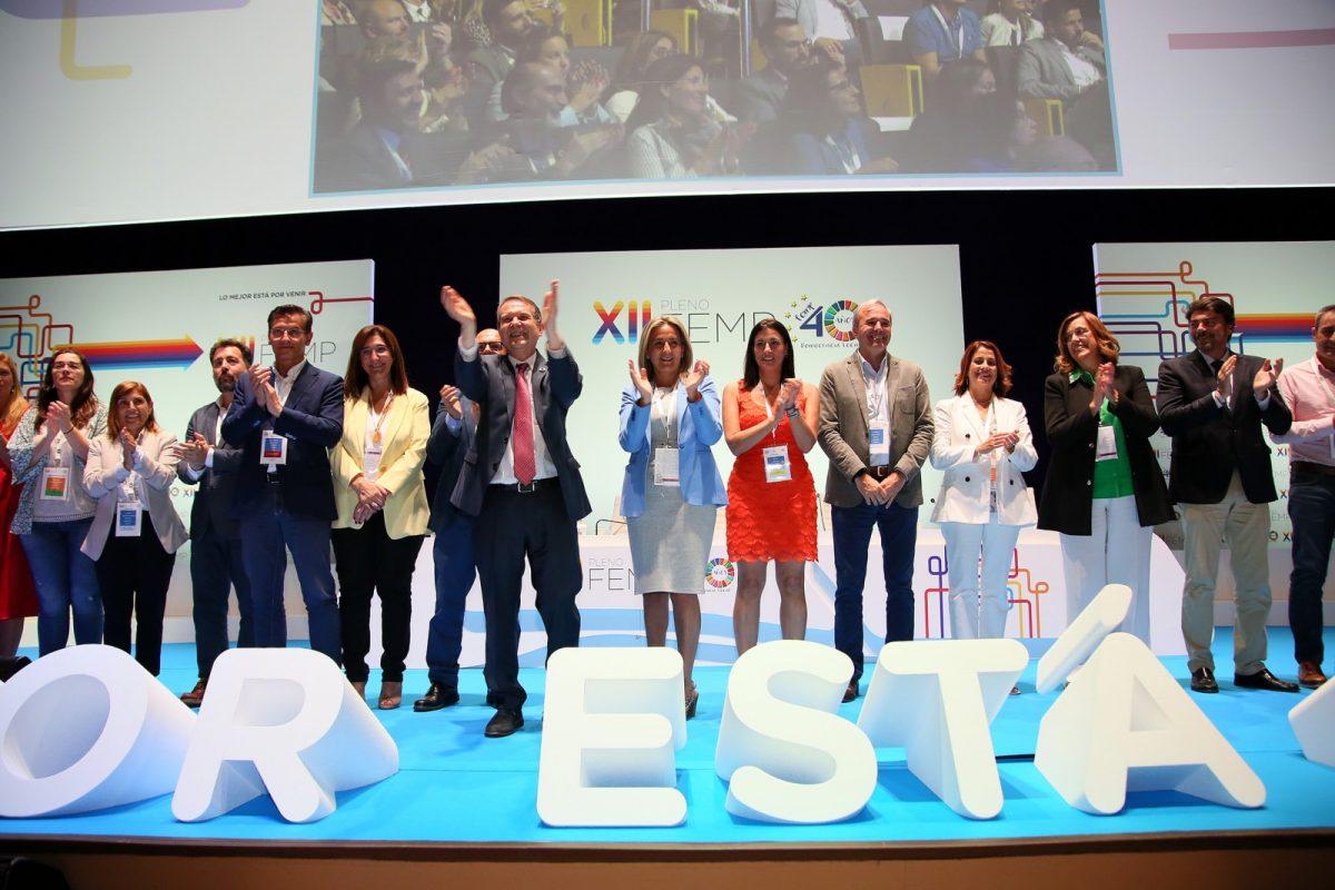 """http://www.toledo.es/wp-content/uploads/2019/09/image_24653-1200x800.jpg. Milagros Tolón, alcaldesa de Toledo, elegida nueva vicepresidenta de la FEMP: """"Toledo refuerza su presencia en el municipalismo español"""""""