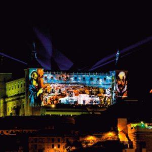 LUZ TOLEDO 2019: Proyección en el Alcázar