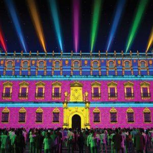 orarios y accesos al espectáculo 'Luz Toledo' en el Alcázar