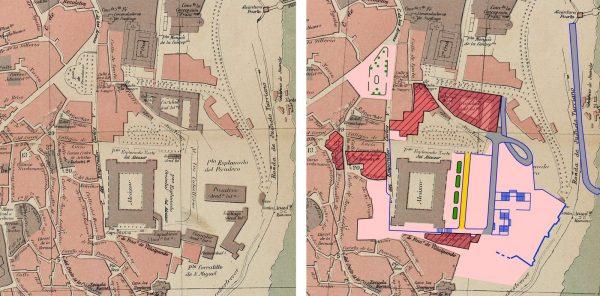 Planos AMT Comparativa Cesareo 1917-1950