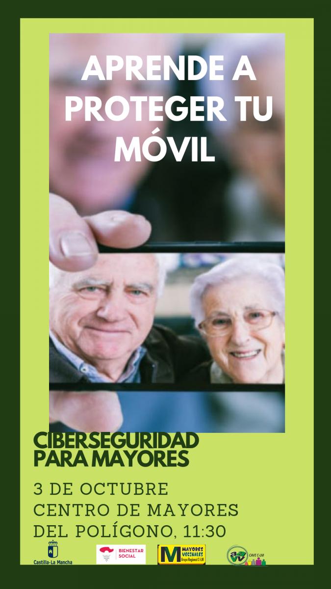 https://www.toledo.es/wp-content/uploads/2019/09/poligono-675x1200.png. Charla: Ciberseguridad para mayores