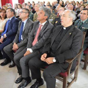 l vicealcalde asiste a la toma de posesión del presidente de la Audiencia Provincial a quien desea éxitos y aciertos