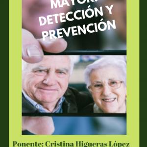 Charla: La soledad en el mayor, detección y protección