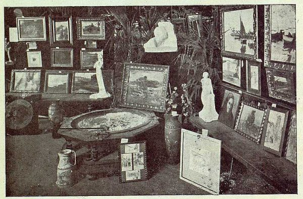 TRA-1922-179 - Ayuntamiento, exposición de obras para rifa pro iglesia de San Sebastián de Ramírez de Arellano-02