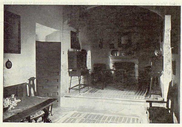 TRA-1922-190-Los Dolores, de Gregorio Marañón, detalle del zaguán-Foto Rodríguez