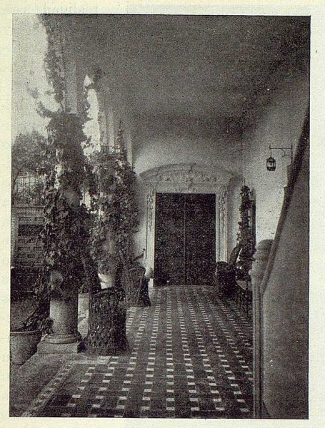 TRA-1922-190-Los Dolores, de Gregorio Marañón, galería baja-Foto Rodríguez