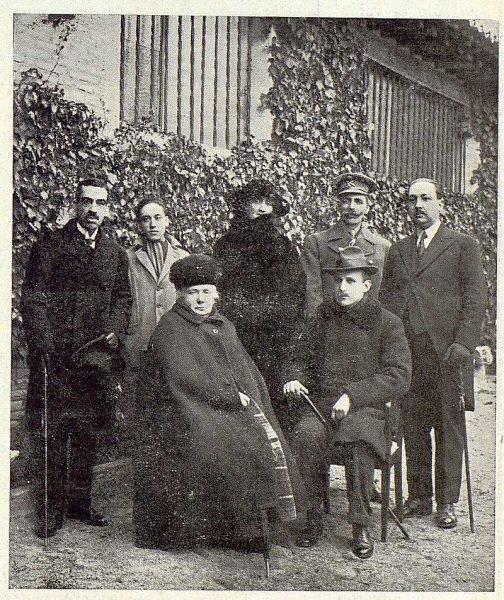 TRA-1923-191 - La Infanta Isabel y el Archiduque de Austria en su visita a Toledo