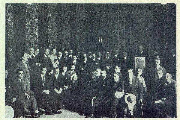 TRA-1924-207 - Ramírez Ángel, hijo predilecto de Toledo en la Sala Capitular