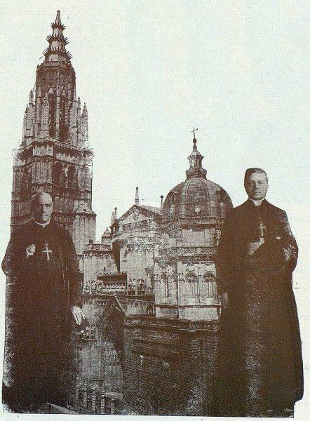 TRA-1924-208 - El Cardenal Reig y el Nuncio Tedeschini