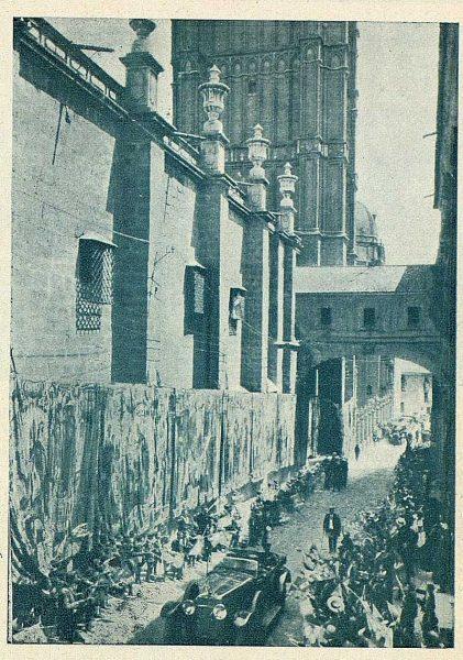 TRA-1924-208 - Los Reyes de España y de Italia en visita a Toledo - Foto Rodríguez