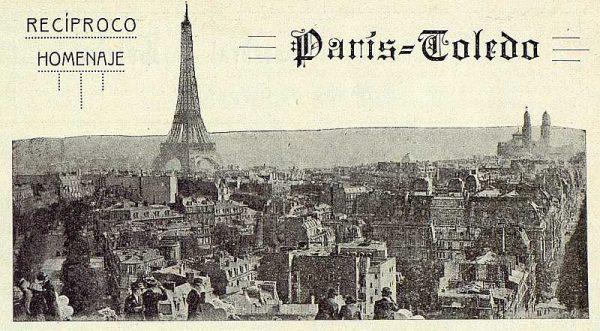 TRA-1924-211 - Homenaje a Barrés, vista de París