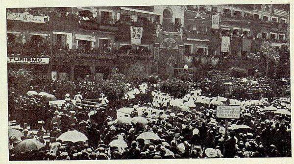 TRA-1926-232 - Coronación de la Virgen del Sagrario, en Zocodover