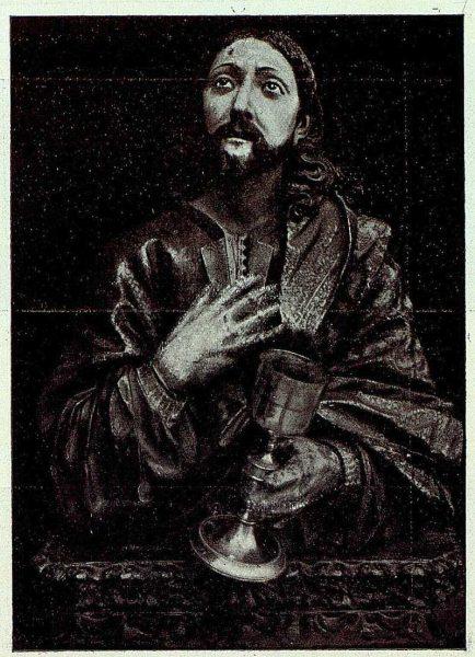 TRA-1926-238 - Congreso Eucarístico Nacional, exposición, busto del Salvador