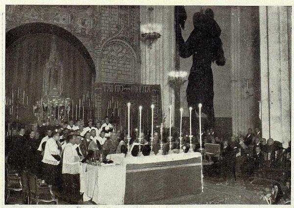 TRA-1926-238 - Congreso Eucarístico Nacional, misa mozárabe