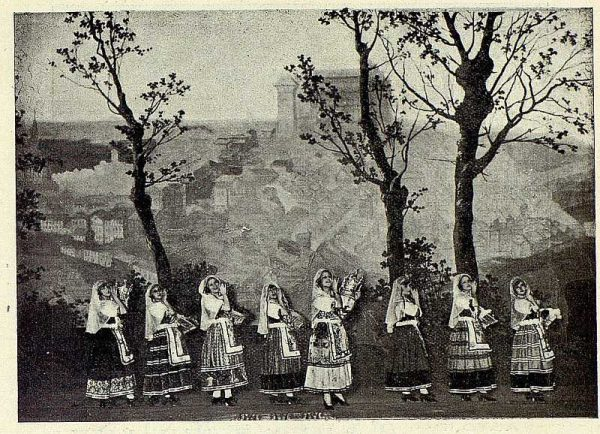 TRA-1927-239 - El Huesped del Sevillano, Coro de las Lagarteranas