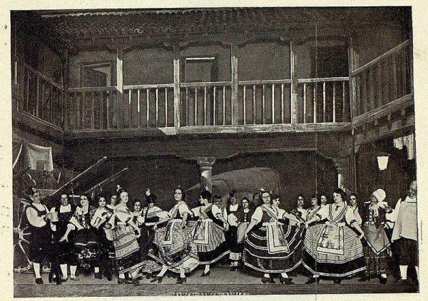 TRA-1927-239 - El Huesped del Sevillano, el Baile de la Chacona