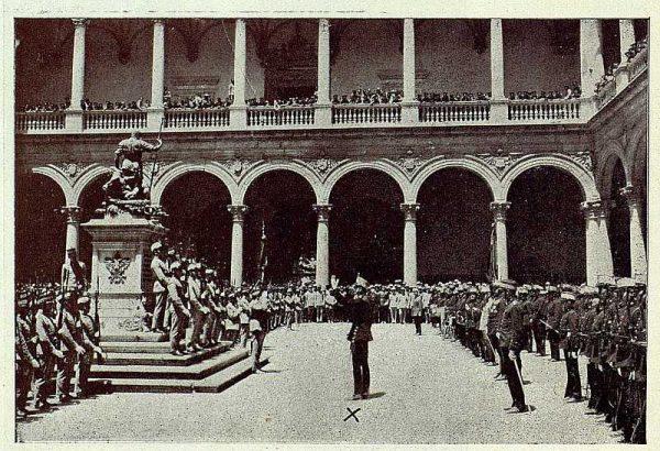TRA-1927-243 - Bodas de Plata en el Trono, Discursos - Foto Rodríguez
