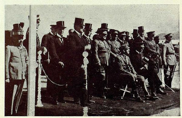 TRA-1927-243 - El rey con el rey de Suecia - Foto Rodríguez