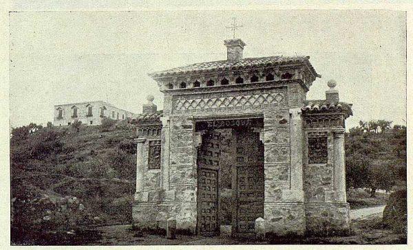TRA-1929-264-Cigarral El Bosque de los marqueses de la Vega del Retortillo, entrada-Foto Rodríguez