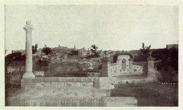 TRA-1929-264-Cigarral El Bosque de los marqueses de la Vega del Retortillo, mirador-Foto Rodríguez