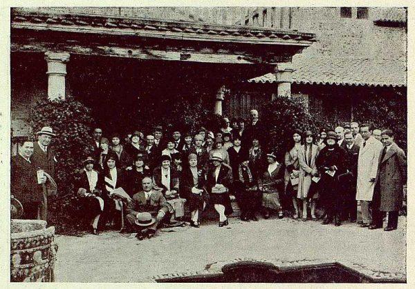 TRA-1929 - 267 - Excursión del Club Rotary, en la Casa del Greco - Foto Rodríguez