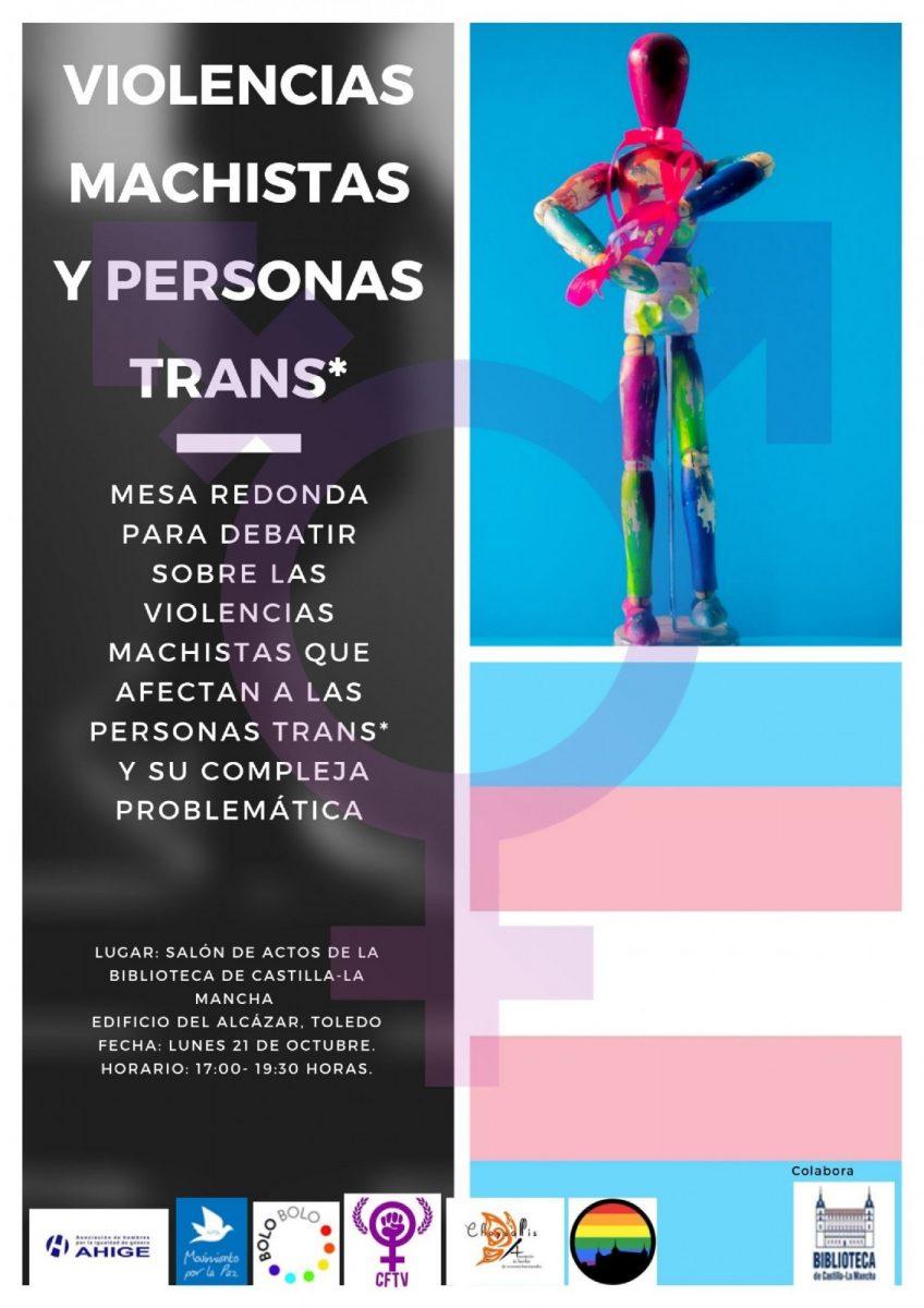 http://www.toledo.es/wp-content/uploads/2019/09/violencias_machistas_y_personas_trans-848x1200.jpg. Conferencia: Violencias machistas y personas trans