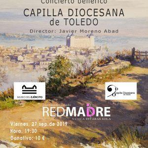 Concierto benéfico a favor de Red Madre, Toledo
