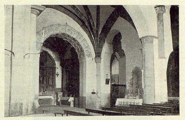 0009_TRA-1929-265-Illescas, iglesia de Santa María, nave central-Foto Aguilar