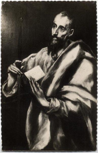 001 - Toledo - Museo del Greco. San Pablo (Greco)