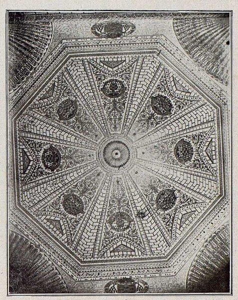 0034_TRA-1921-171-Catedral, bóveda de la Capilla Mozárabe-Foto Bermejo