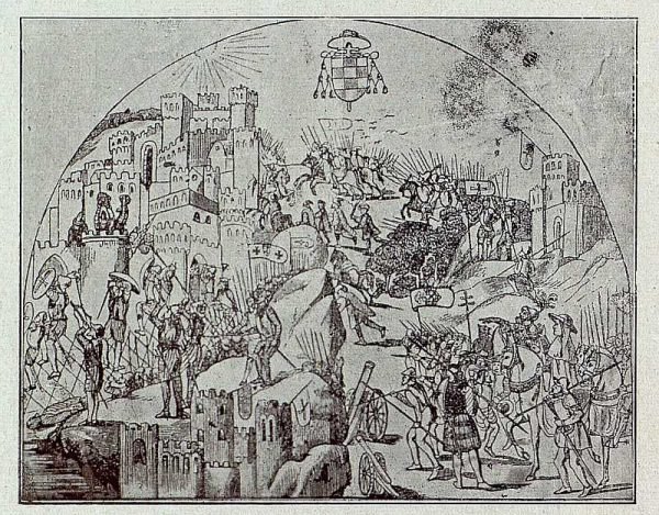 0039_TRA-1921-171-Catedral, la conquista de Orán en la Capilla Mozárabe-Foto Bermejo